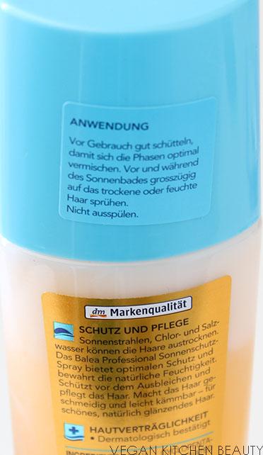 Balea Sonnenschutz Spray Living The Beauty
