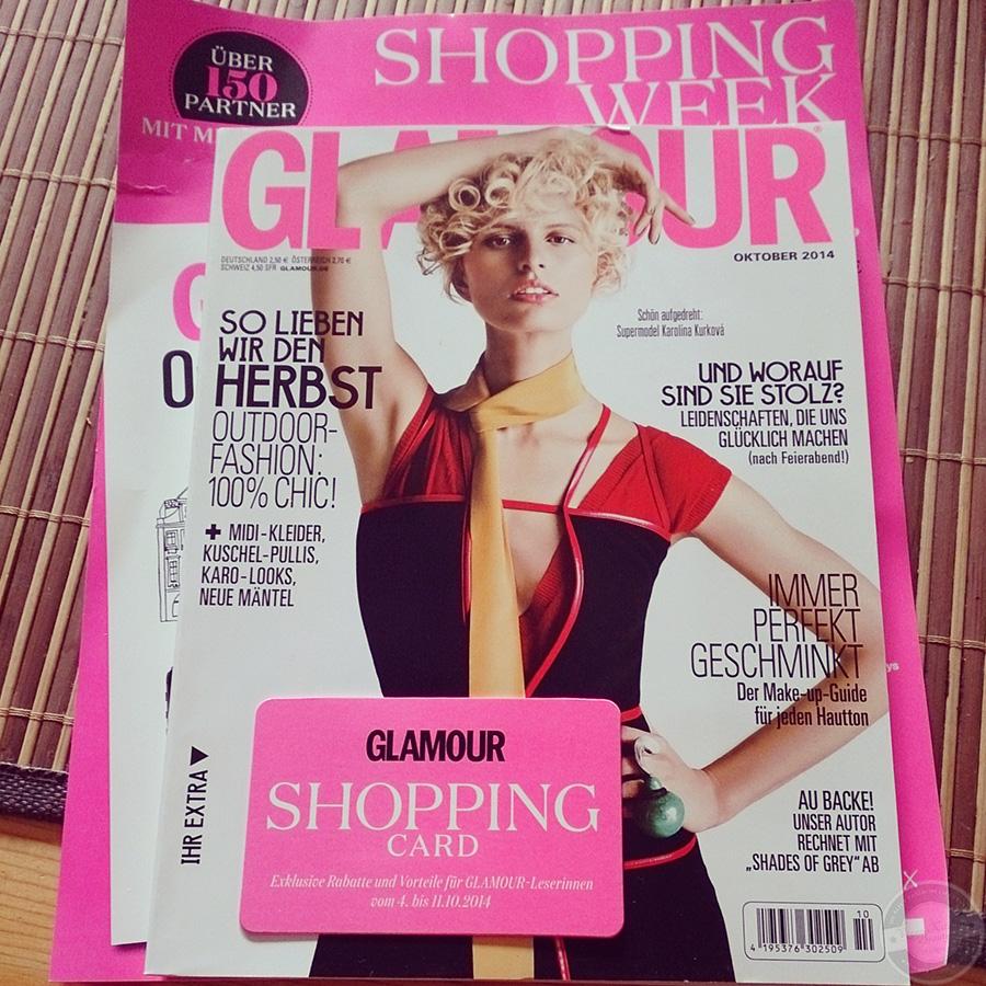 Glamour Shopping Week Zeitschrift