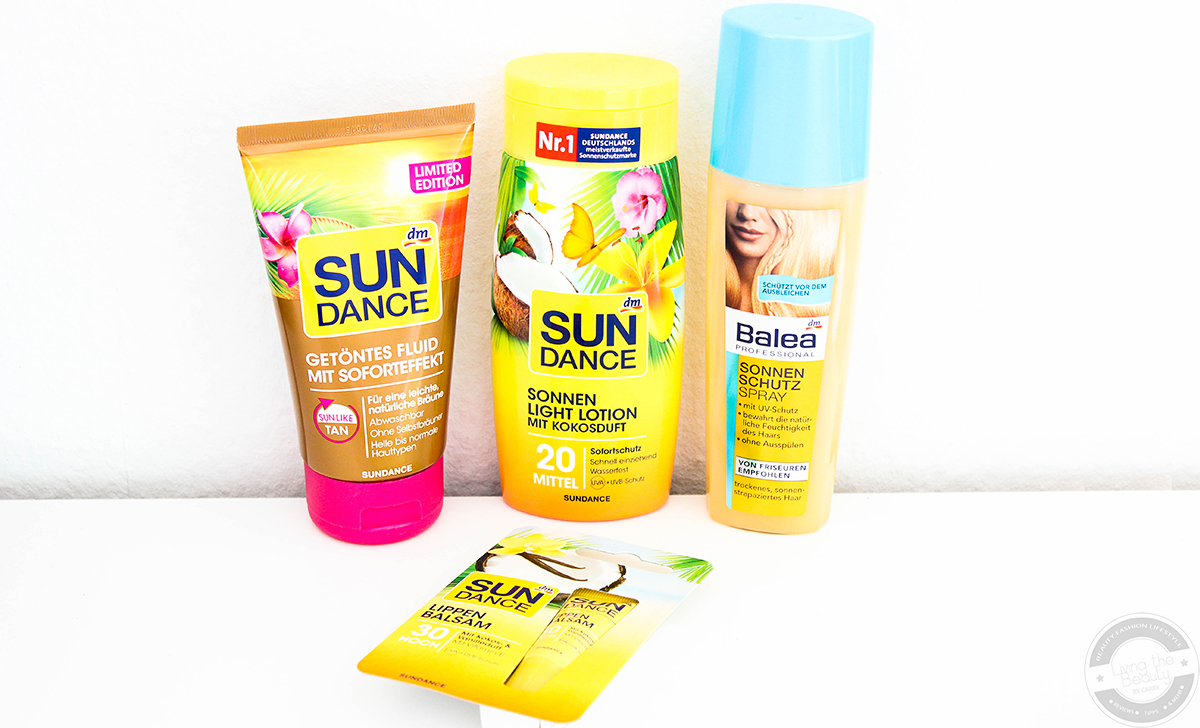 sundance-sonnenschutz-balea-lippenpflege Sonnenpflege Neueinzüge - Vorbereitung für den Urlaub