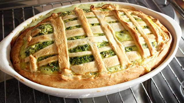 spinat-quiche-rezept-thumb Rezept | Quiche mit Spinat, Hüttenkäse und Schafskäse
