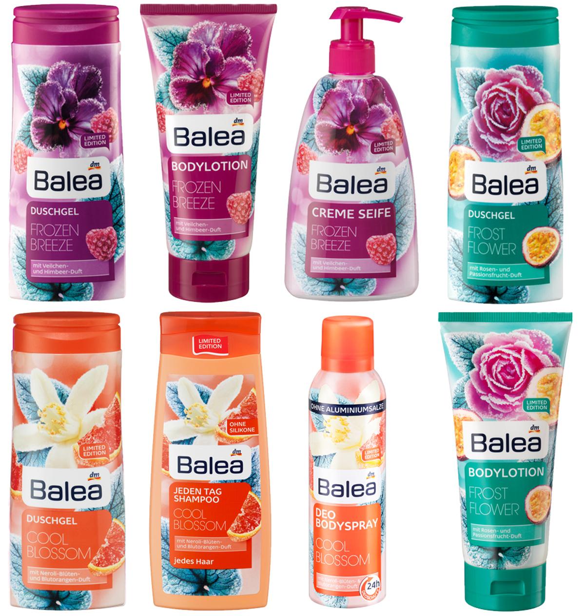 balea-herbst-limited-edition Neu von Balea - Pflegeprodukte Limited Edition für den Herbst