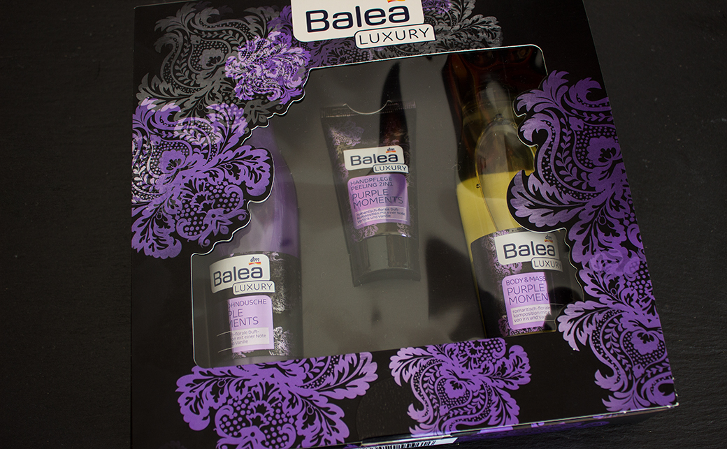balea-luxury-purple-moments-geschenk-set-1 Balea Luxury Purple Moments Geschenkset mit Duschgel, Massageöl & 2in1 Handcreme