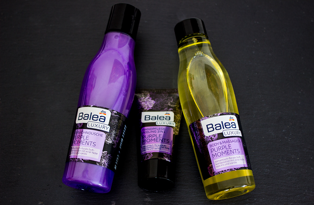 balea-luxury-purple-moments-geschenk-set-4 Balea Luxury Purple Moments Geschenkset mit Duschgel, Massageöl & 2in1 Handcreme