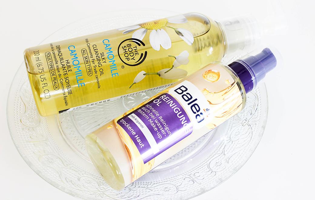 body-shop-cleansing-oil-balea-reinigungs-oel-1 The Body Shop Camomile Silky Cleansing Oil vs. Balea Reinigungsöl