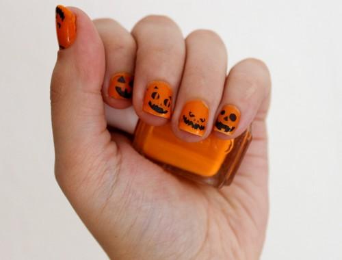 halloween-nageldesign-kuerbis