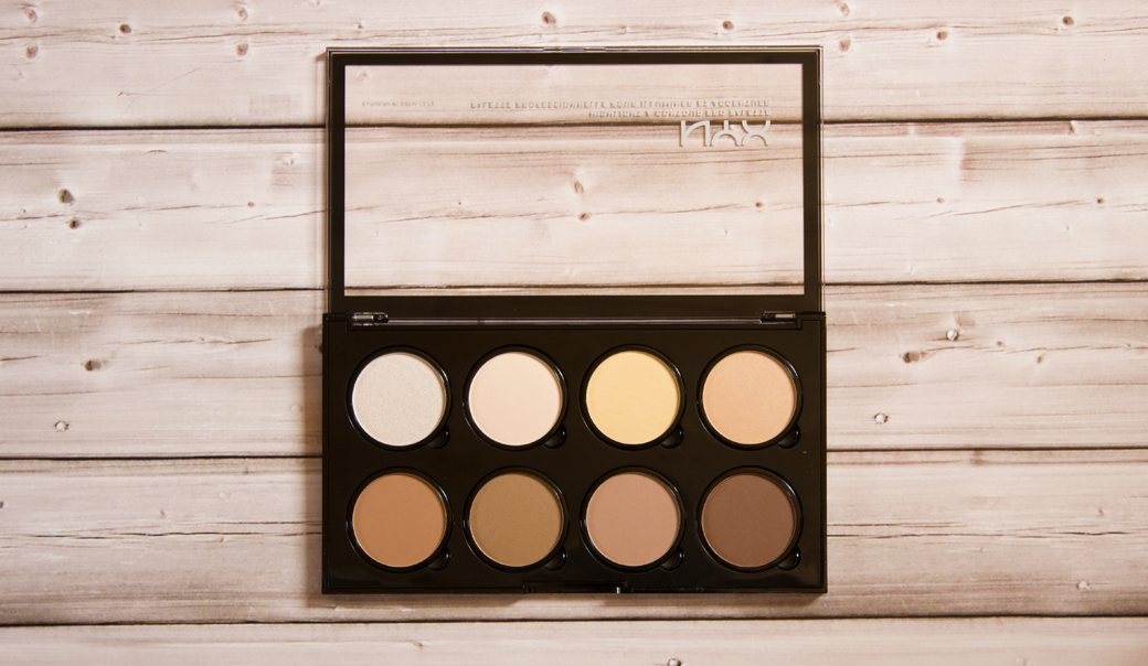 nyx contouring palette warum ich sie besser als abh finde living the beauty. Black Bedroom Furniture Sets. Home Design Ideas