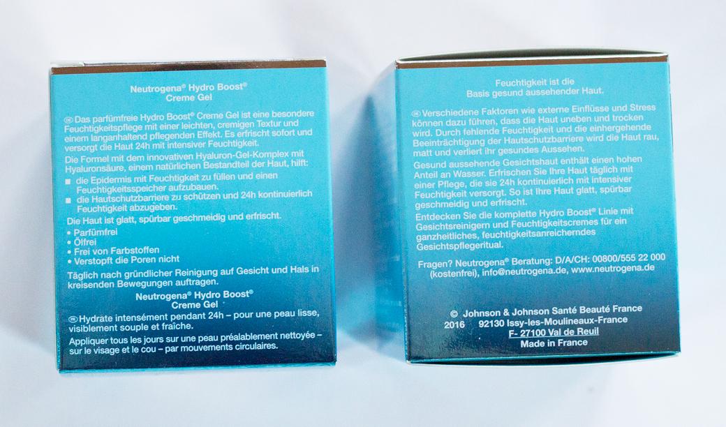 neutrogena-hydro-boost-cremes-2 Neutrogena Hydro Boost - die neue Pflegeserie mit Hyaluron-Gel-Komplex