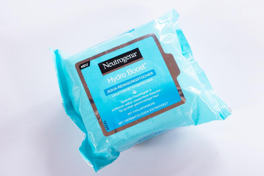 neutrogena-hydro-boost-reinigungstücher-1 Neutrogena Hydro Boost - die neue Pflegeserie mit Hyaluron-Gel-Komplex