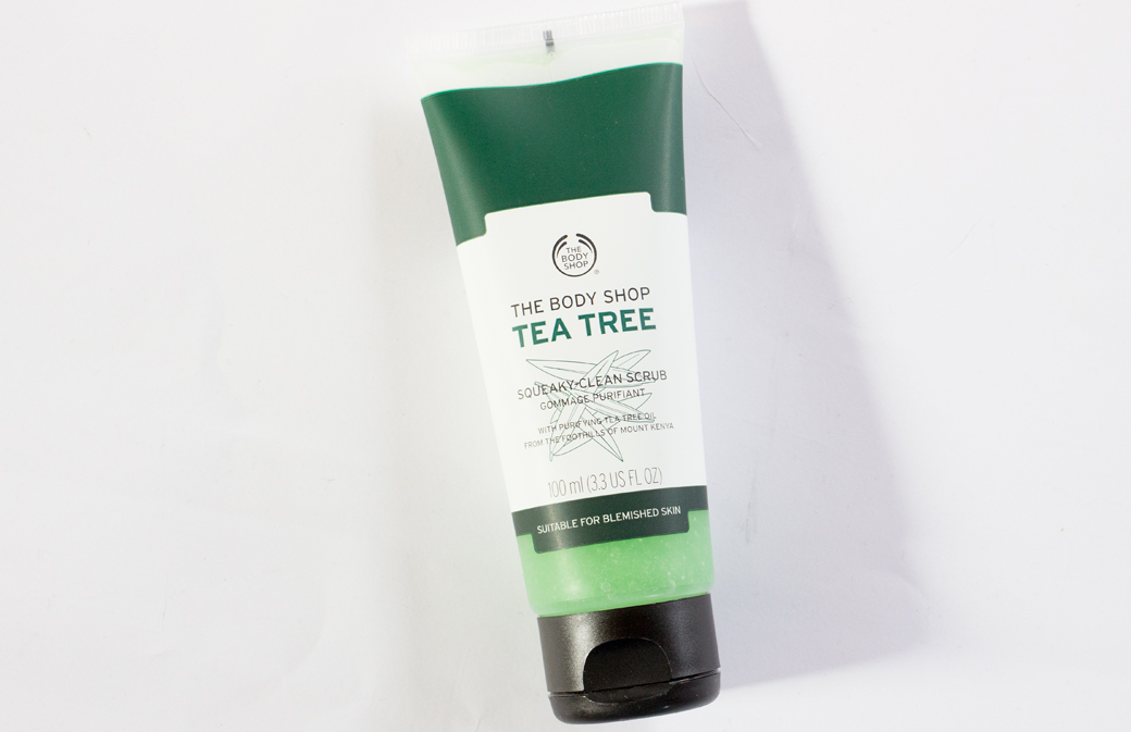 the-body-shop-tea-tree-squeaky-clean-scrub-1 The Body Shop Tea Tree Squeaky-Clean Scrub