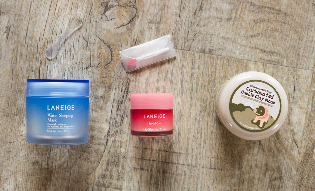 laneige-water-sleeping-lip-mask-bubble-clay-2 Worth the Hype? | Laneige Sleeping Mask & Carbonated Bubble Clay Mask