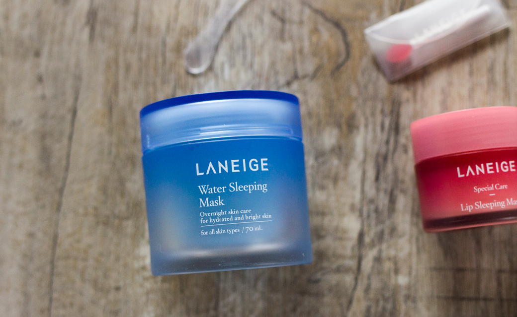 laneige-water-sleeping-mask Worth the Hype? | Laneige Sleeping Mask & Carbonated Bubble Clay Mask