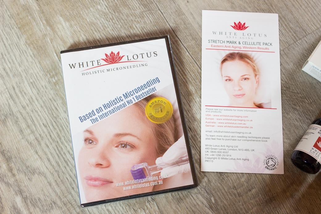 white-lotus-dermaroller-microneedling-3 Microneedling mit dem White Lotus Dermaroller   Werbung