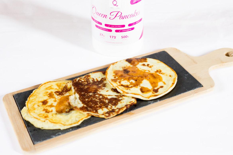 GymQueen Queen Pancakes Sweet Snowball, Snickerdoodle & Weiße Schokolade Pistazie
