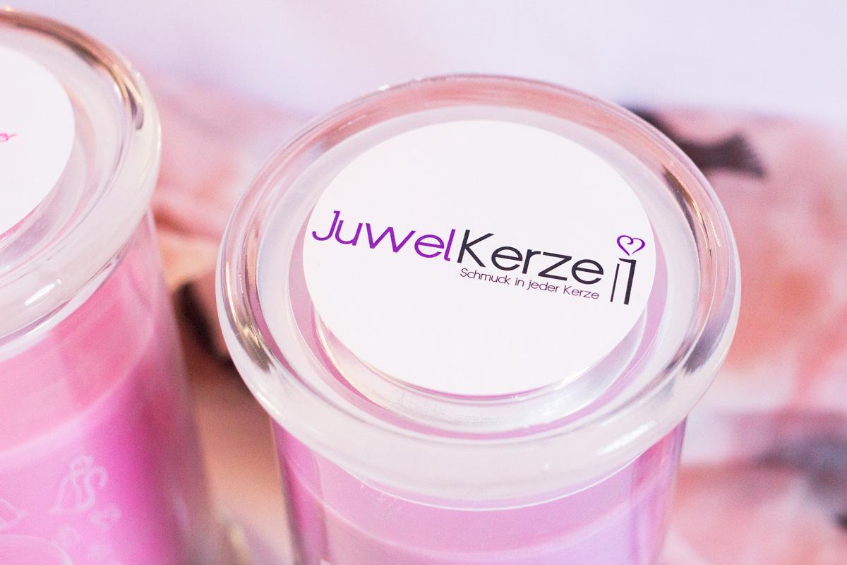 Juwelkerze - Magische Eisblume