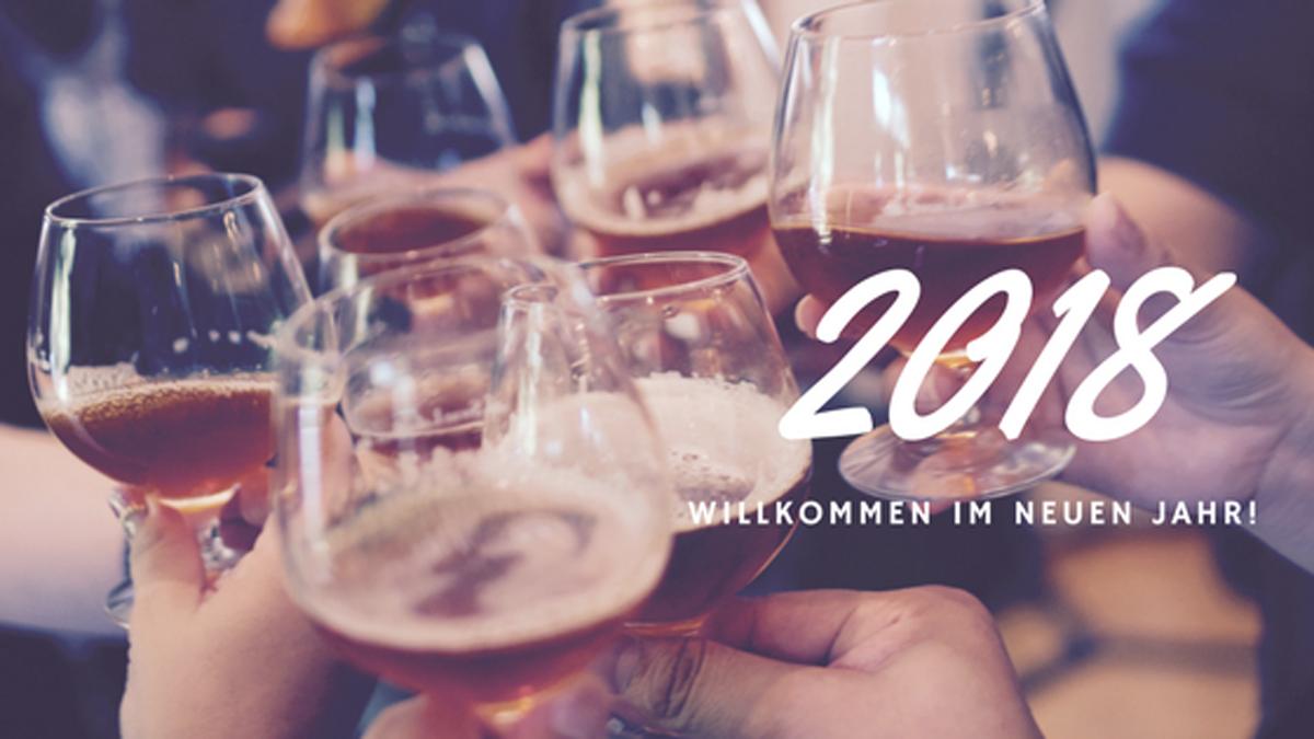 Tschüss 2017, hallo 2018 | Mein Jahresrückblick