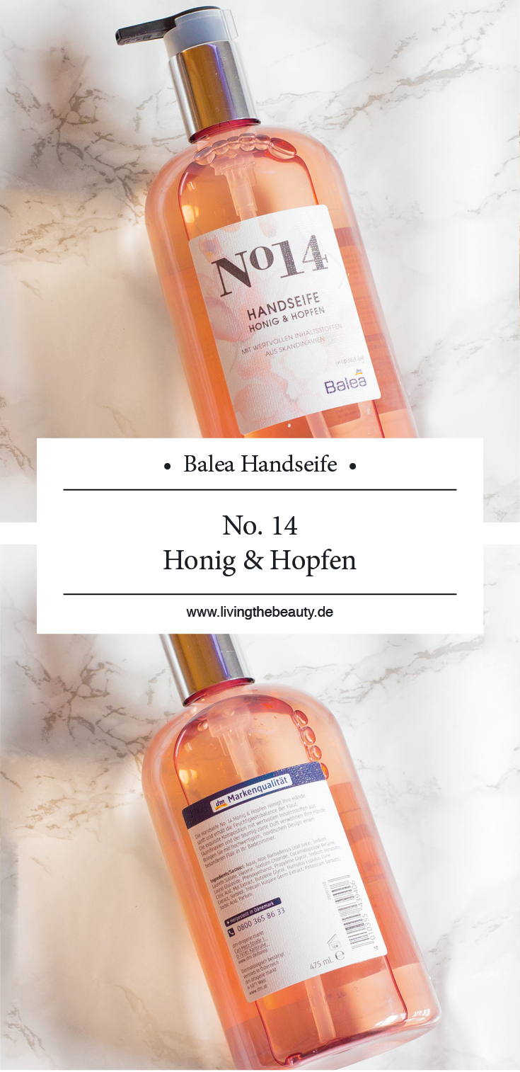 Balea Handseife No. 14 Honig & Hopfen