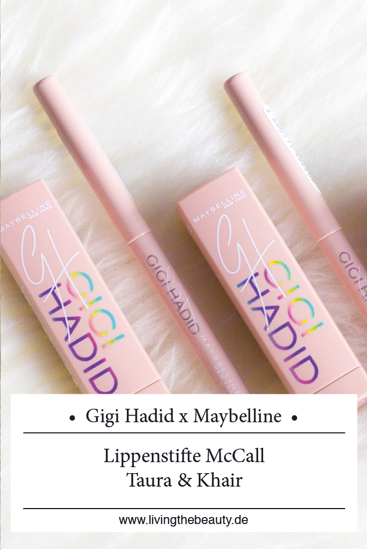 Gigi Hadid x Maybelline Make up Collection - Lippenstift McCall, Taura & Khair