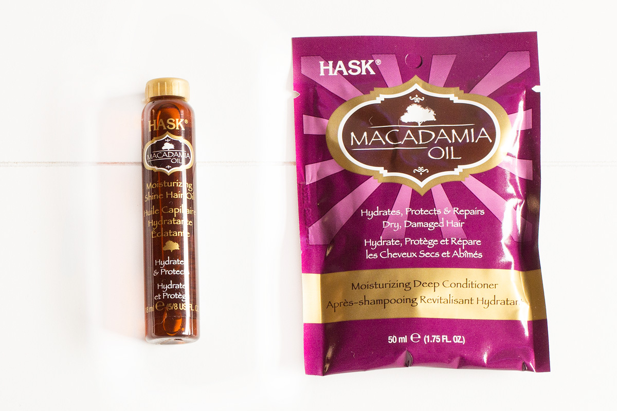 HASK Macadamia Oil Pflegeserie | Deep Conditioner & Hair Oil