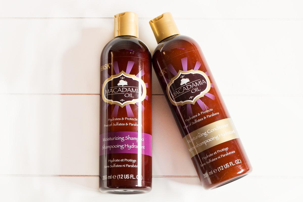 HASK Macadamia Oil Pflegeserie | Shampoo & Conditioner