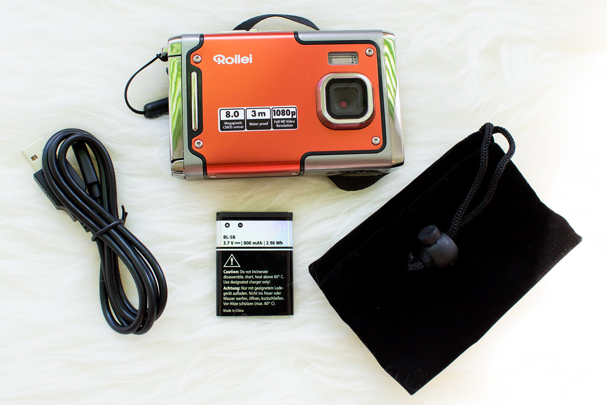 KaufENTpfehlung - Rollei Sportsline 85 Kamera