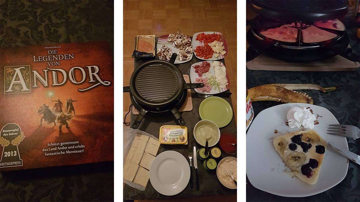 Silvester Raclette & Die Legenden von Andor