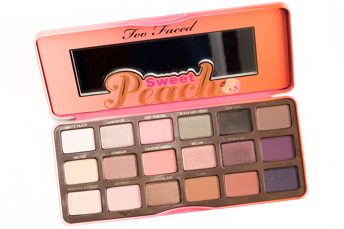 Too Faced Sweet Peach Eyeshadow Palette