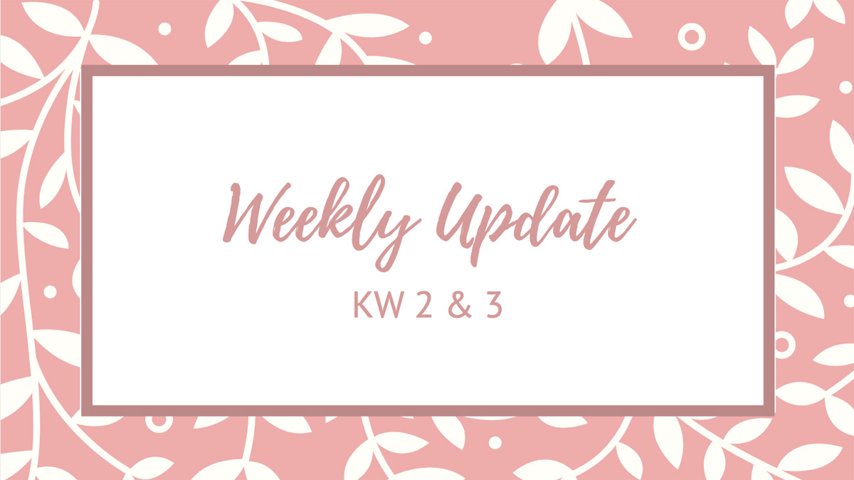 Weekly Update KW 2 & 3