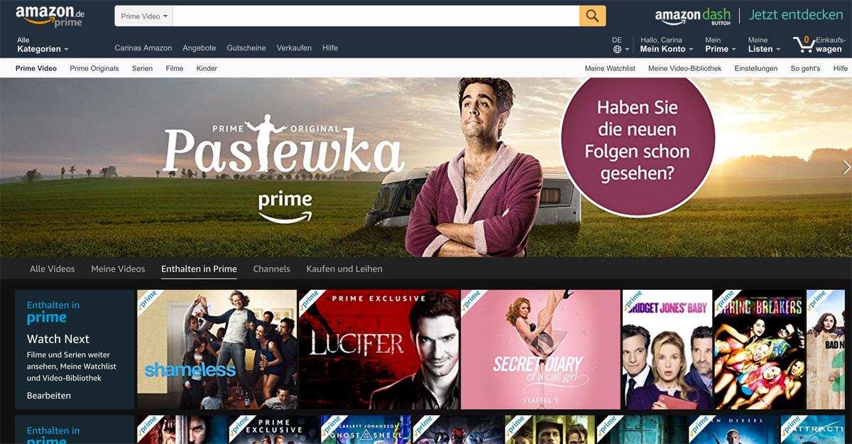 Amazon Prime Video - Vorteile & Nachteile