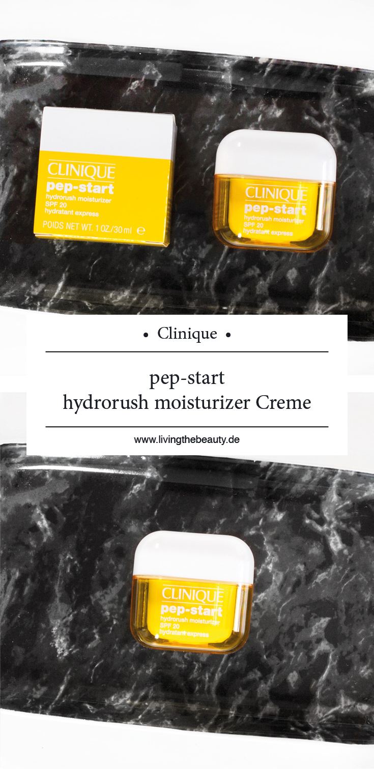 Clinique pep-start hydrorush moisturizer Creme