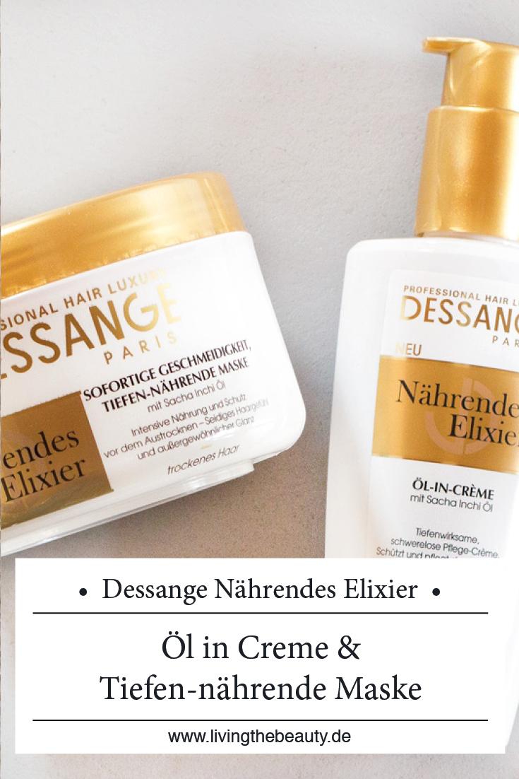 Dessange Nährendes Elixier Haarpflege Linie - Öl in Creme & Tiefen-nährende Maske