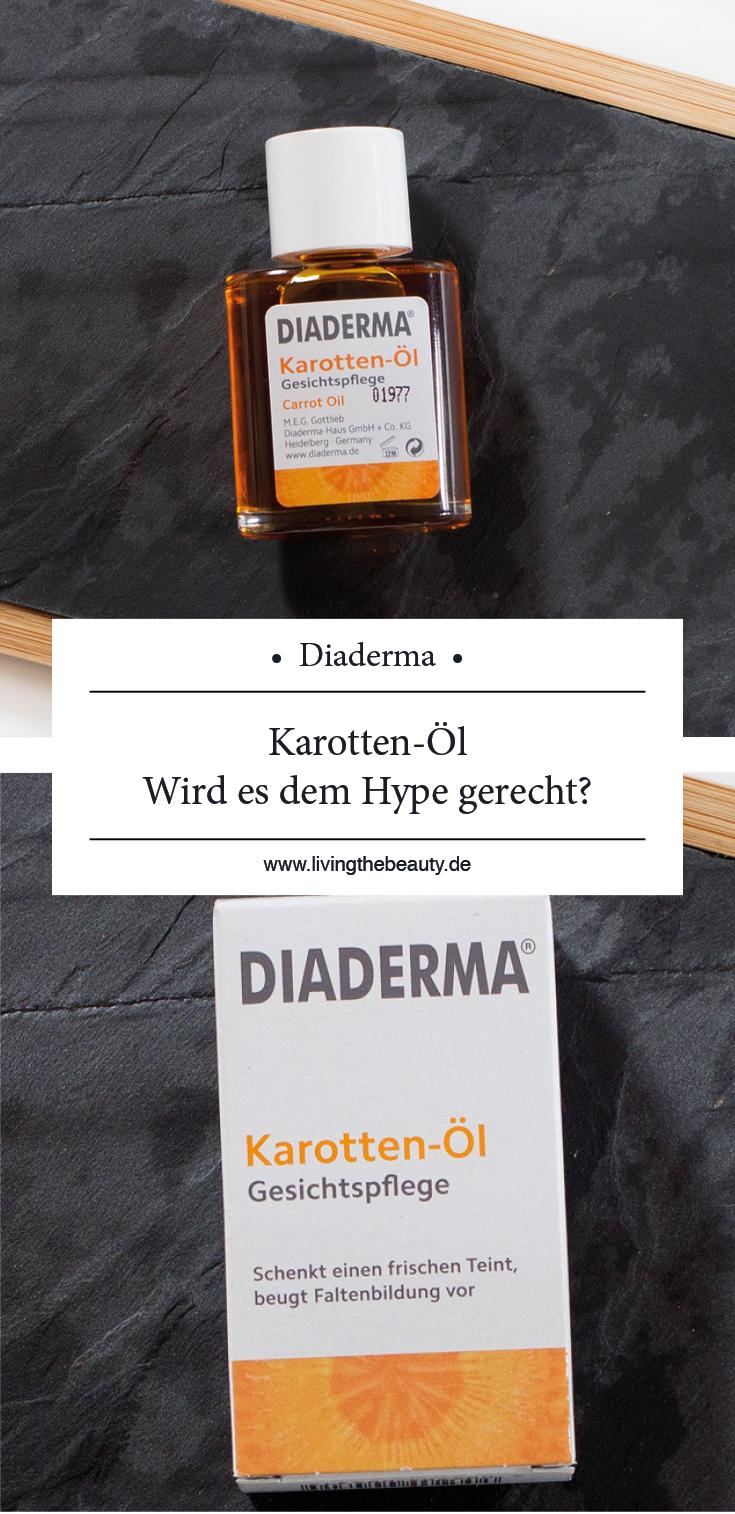 Diaderma Karotten-Öl Gesichtspflege