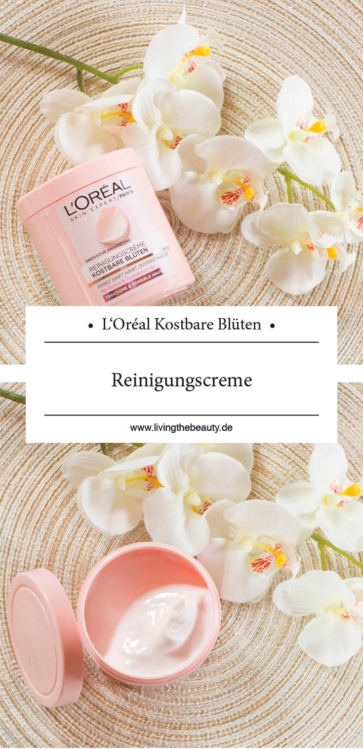 L'Oréal Reinigungscreme Kostbare Blüten