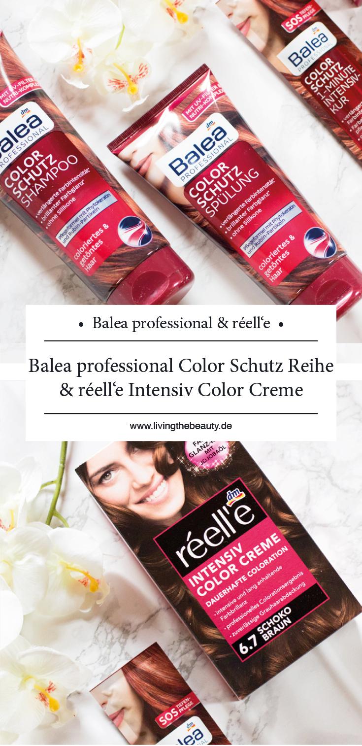 Balea professional Color Schutz Reihe & réell'e Intensiv Color Creme