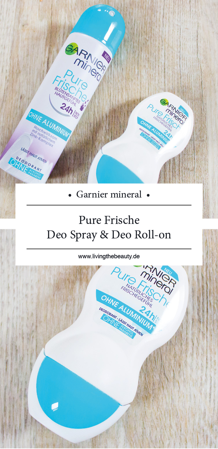 Garnier mineral Pure Frische Deo Spray & Roll-on