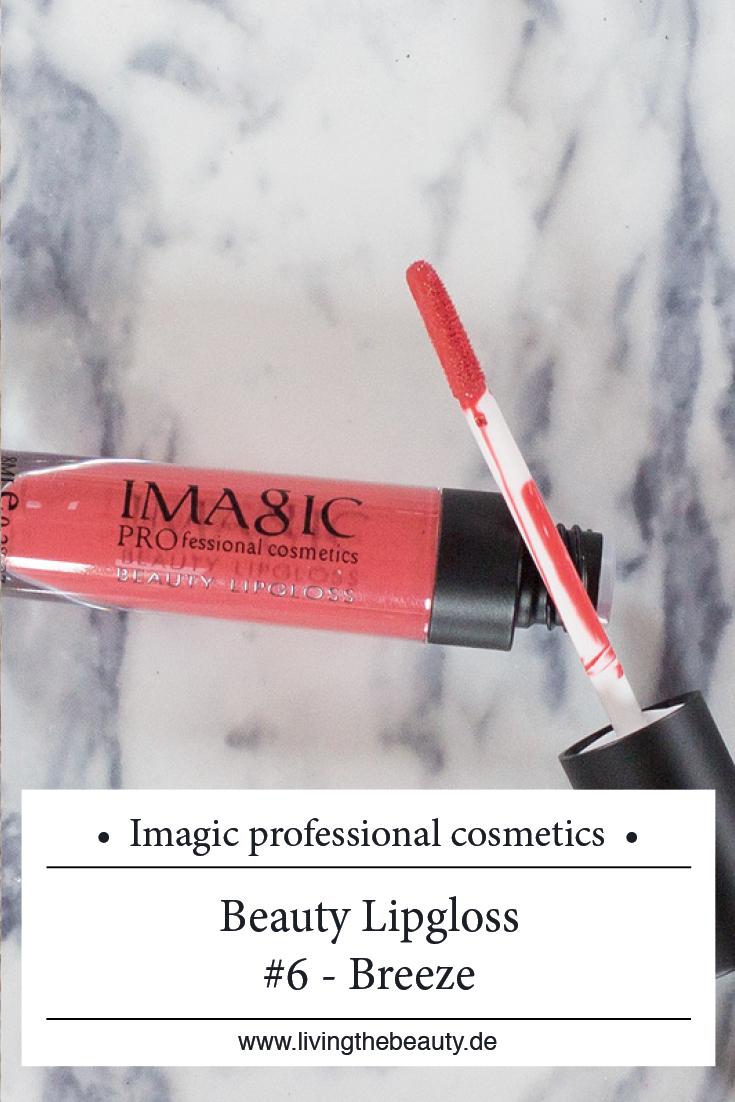 Imagic Professional Cosmetics Beauty Lipgloss #6 Breeze