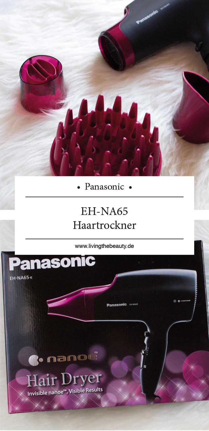 Ein Föhn mit der Extra-Portion Pflege - der Panasonic EH-NA65 Haartrockner