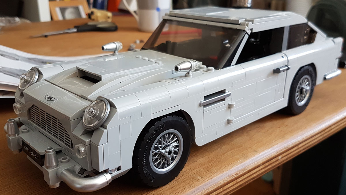 Lego Aston Martin DB5 James Bond Edition