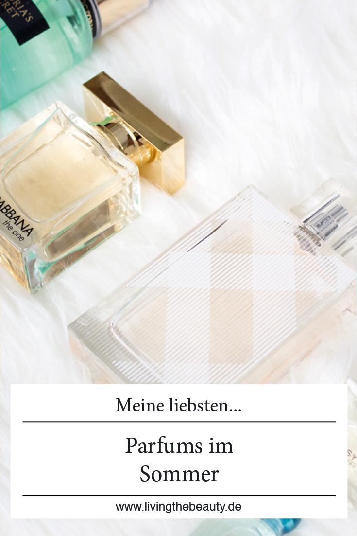 Meine liebsten Parfums im Sommer