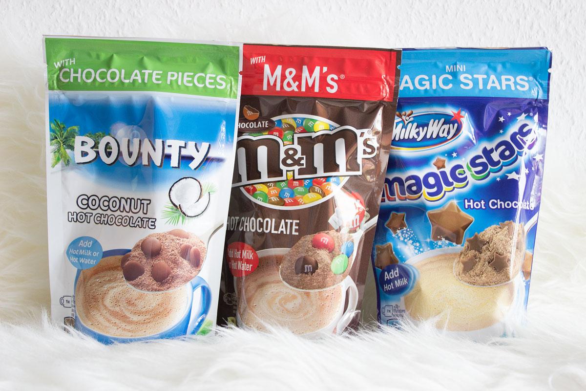 Was taugen die Kakaos mit Geschmack von M&Ms, Bounty und Milky Way wirklich?