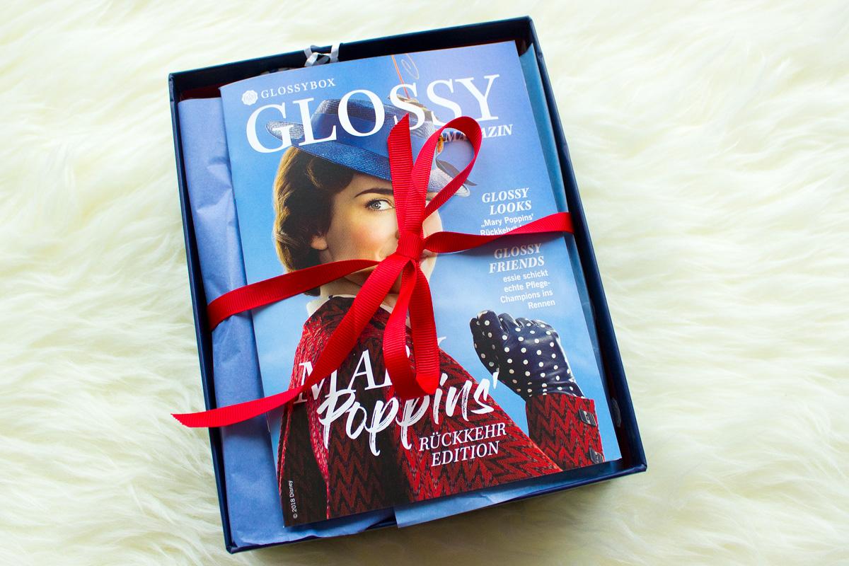 Glossybox Dezember 2018 - Mary Poppins' Rückkehr Edition