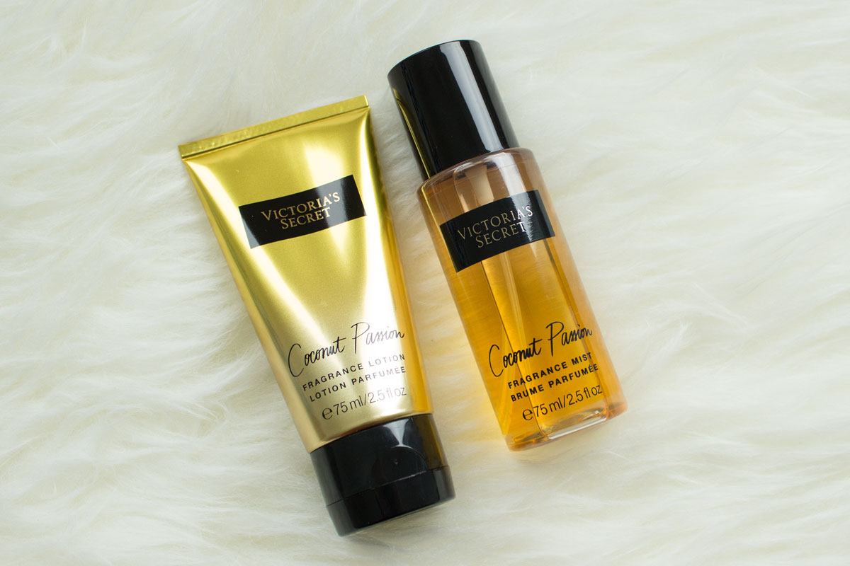 Victoria's Secret Coconut Passion Body Lotion & Fragrance Mist
