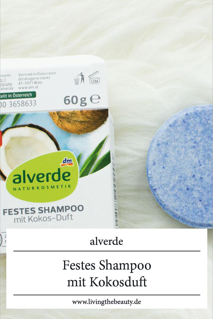 alverde festes Shampoo mit Kokosduft