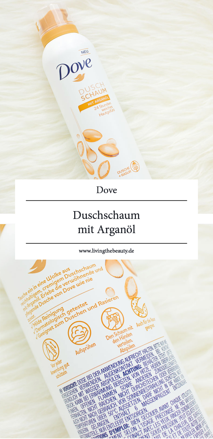 Dove Duschschaum mit Arganöl