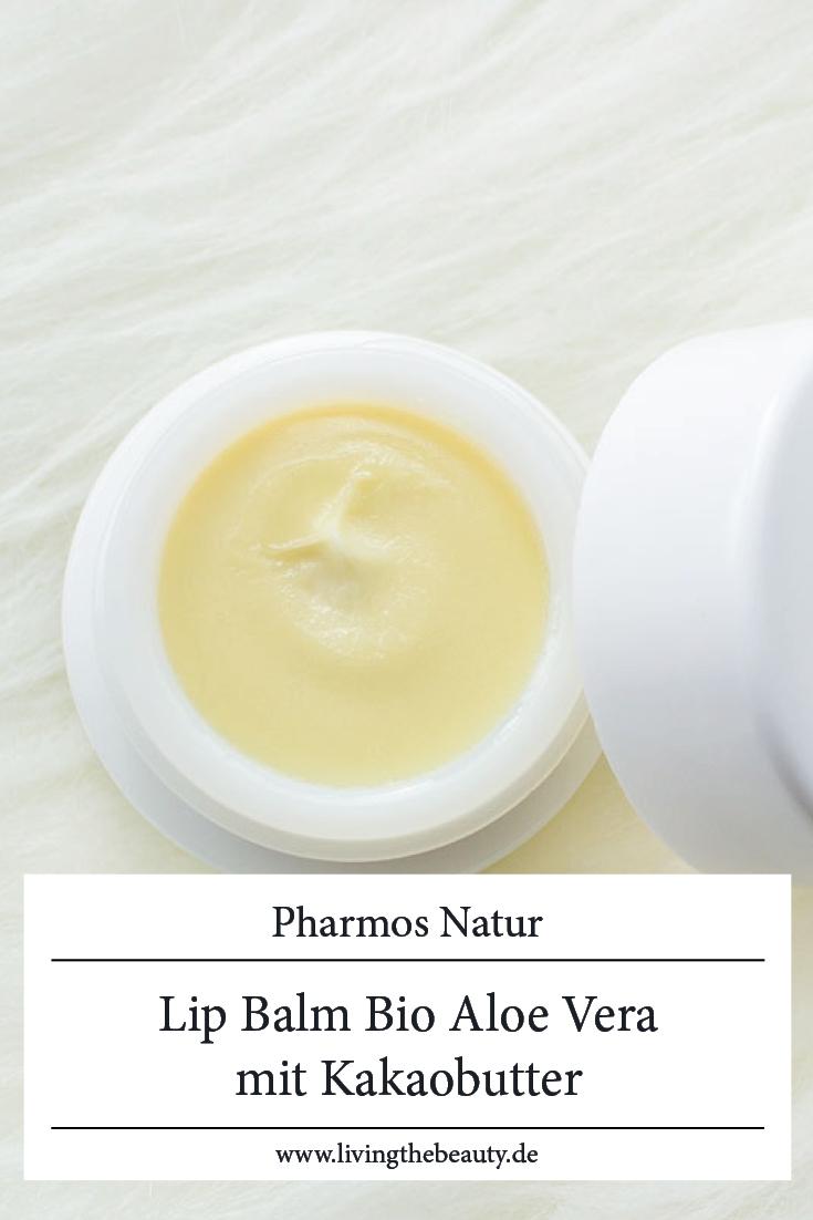 Pharmos Natur - Lip Balm Bio Aloe Vera mit Kakaobutter