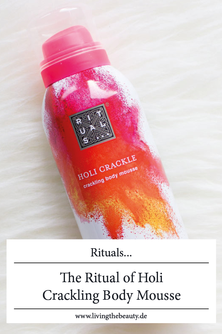 Rituals - The Ritual of Holi Crackling Body Mousse