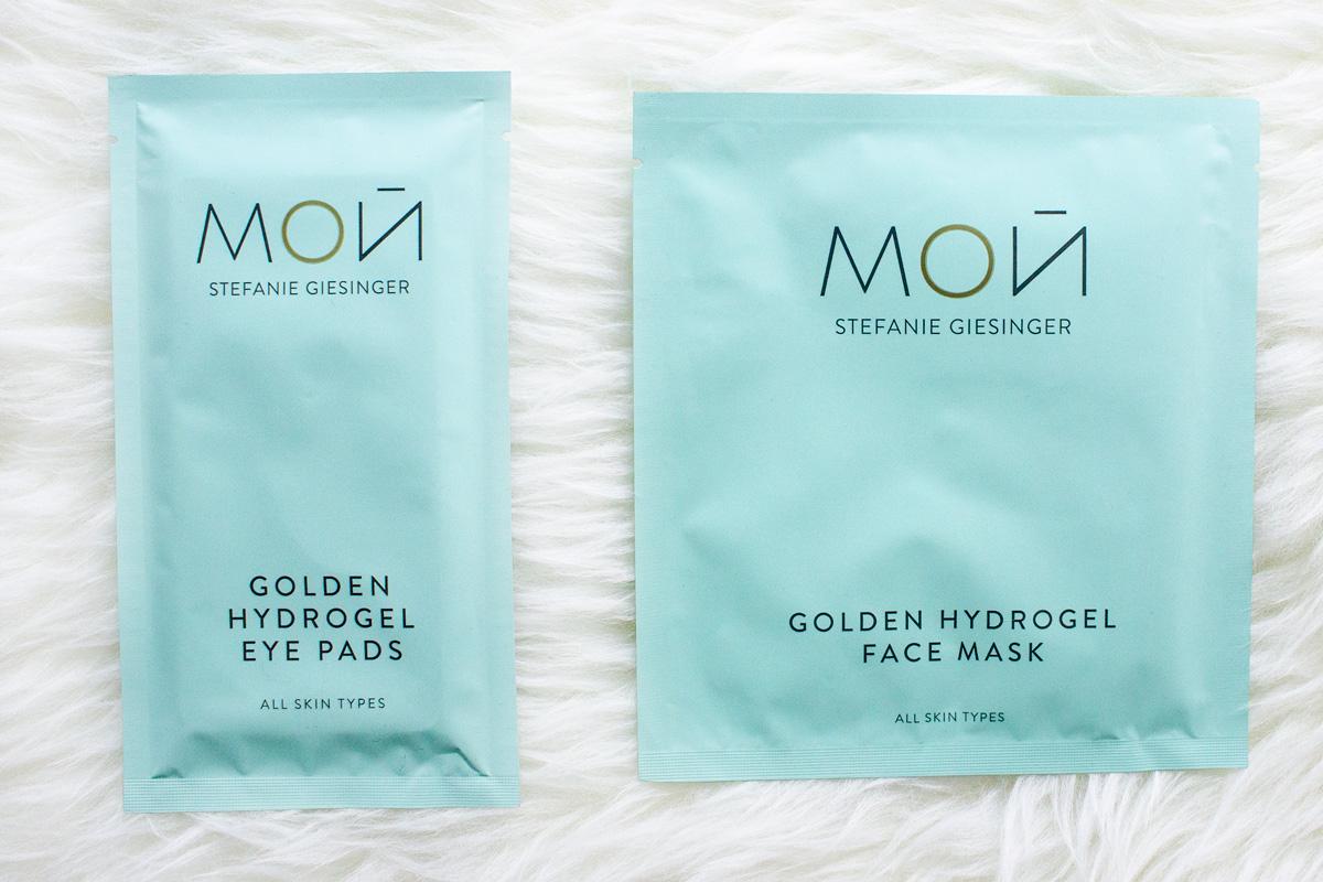 Мой by Stefanie Giesinger - Golden Hydrogel Face Maske & Eye Pads