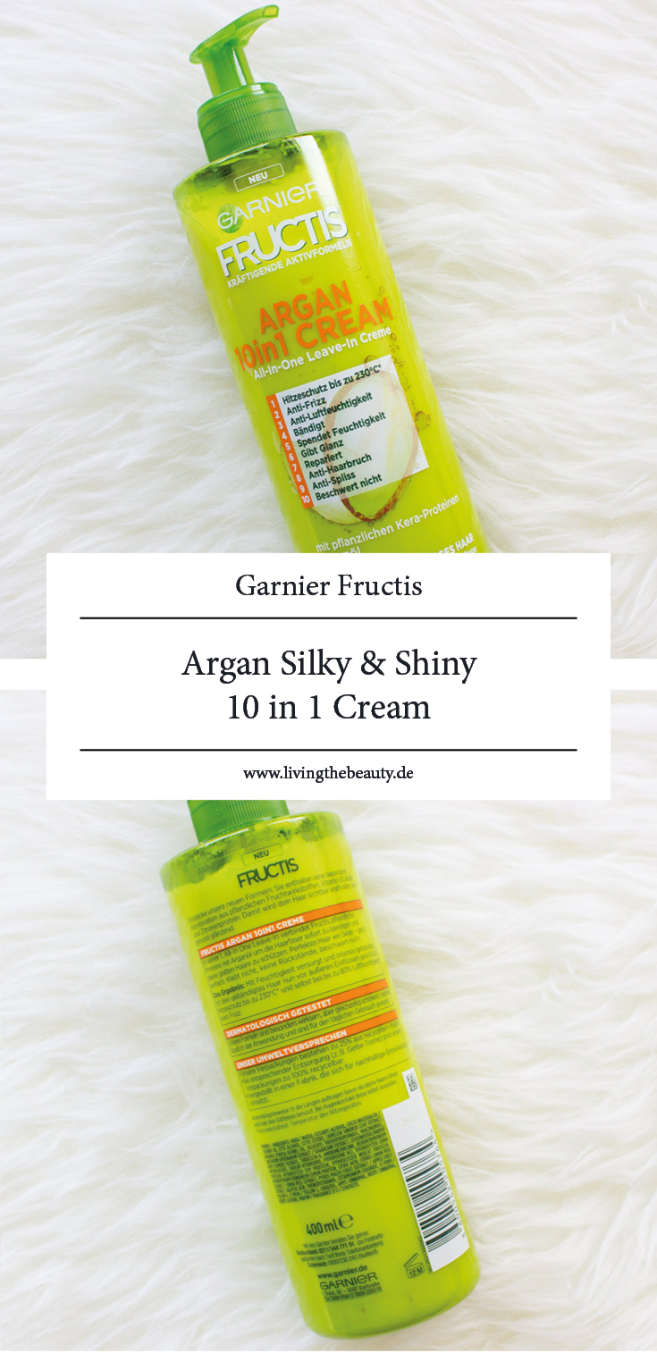 Garnier Fructis Argan Silky & Shiny 10 in1 Cream