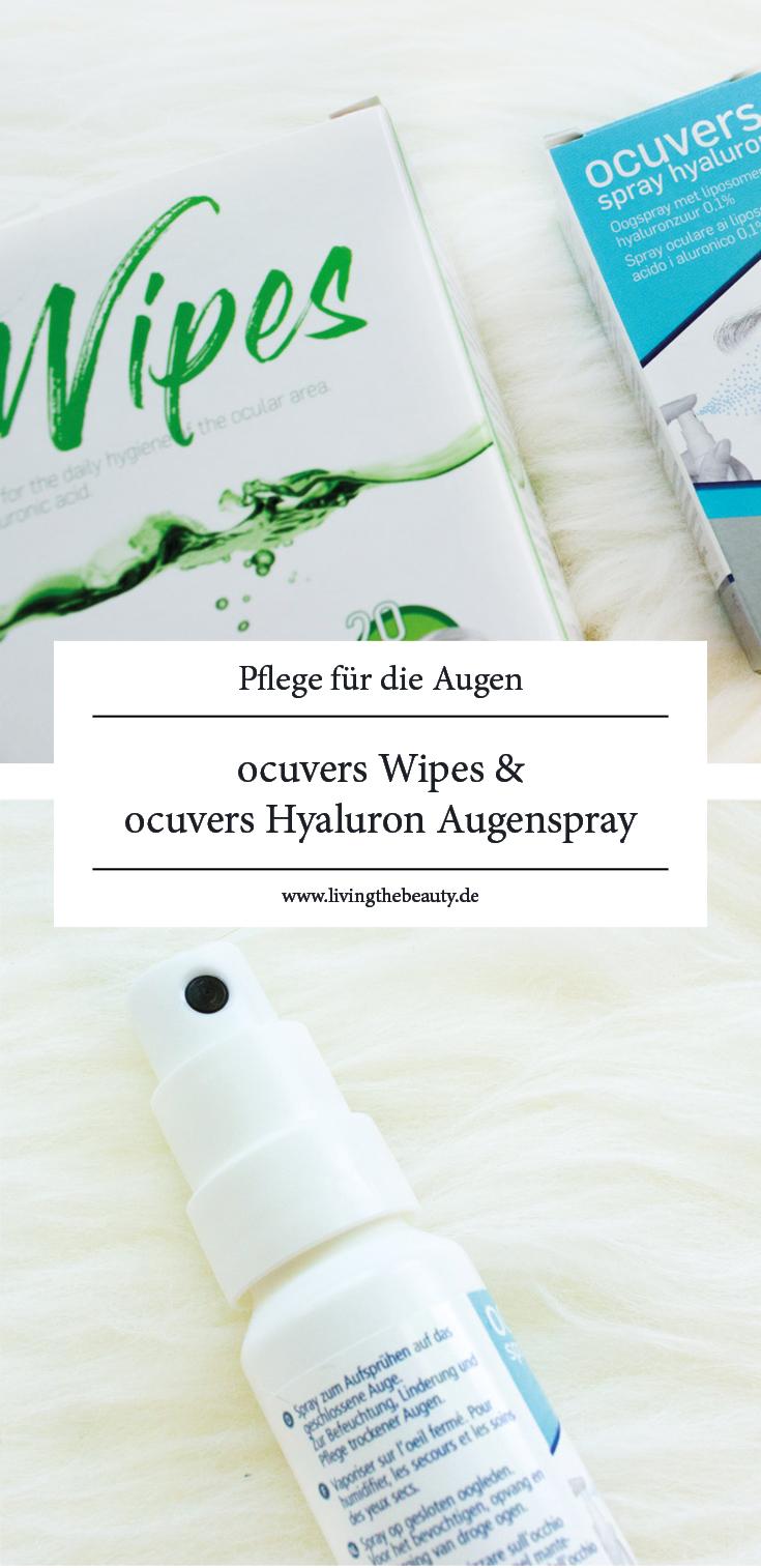 Pflege für die Augen - ocuvers Wipes & ocuvers Hyaluron Augenspray