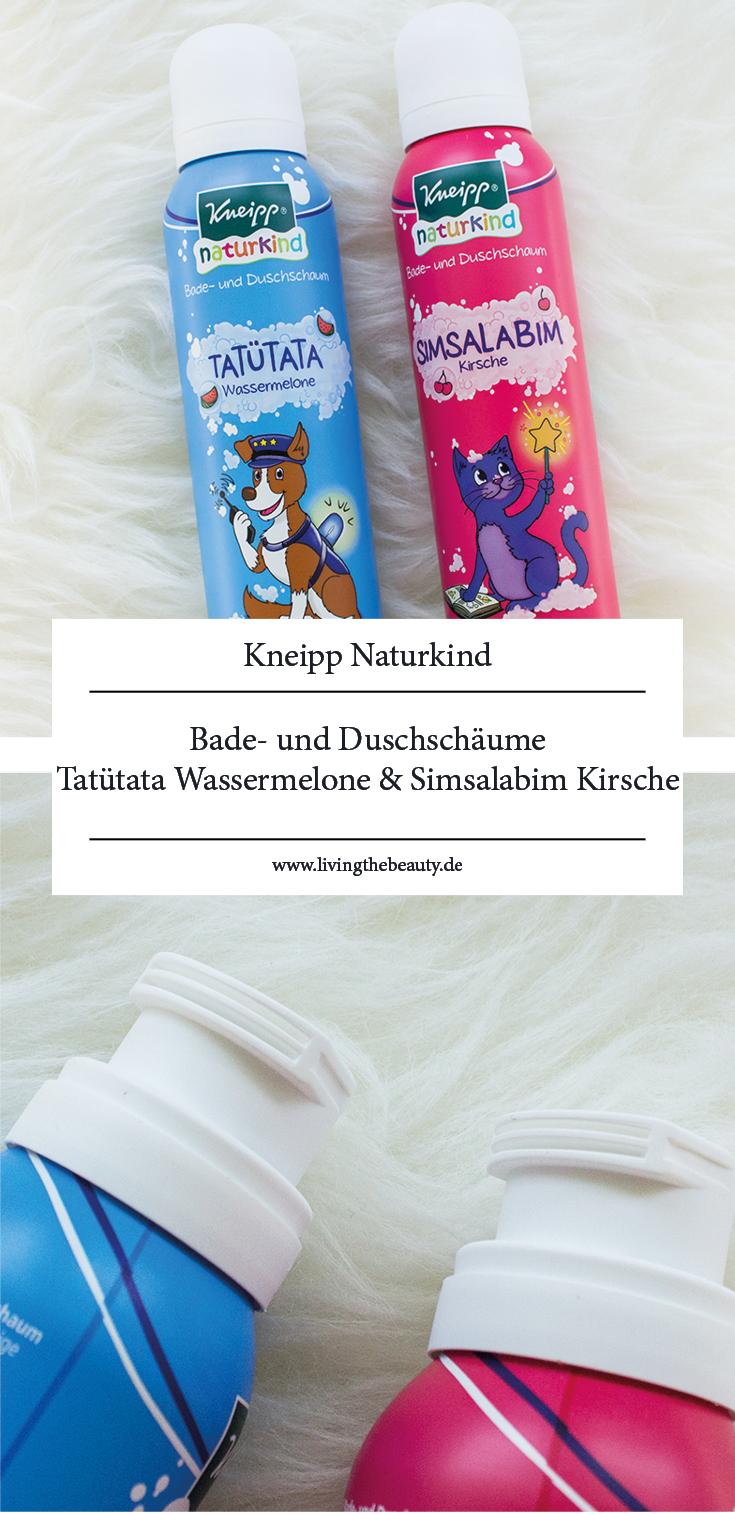 Kneipp Naturkind Bade- und Duschschäume Tatütata Wassermelone & Simsalabim Kirsche