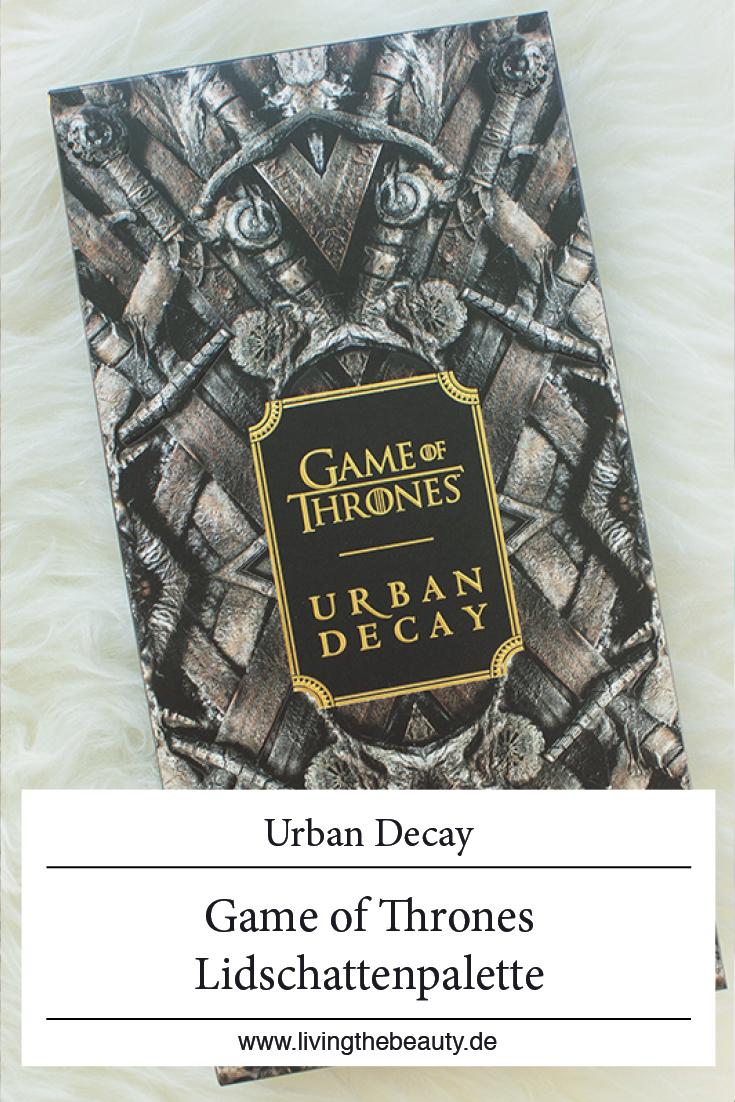 Urban Decay Game of Thrones Lidschatten Palette